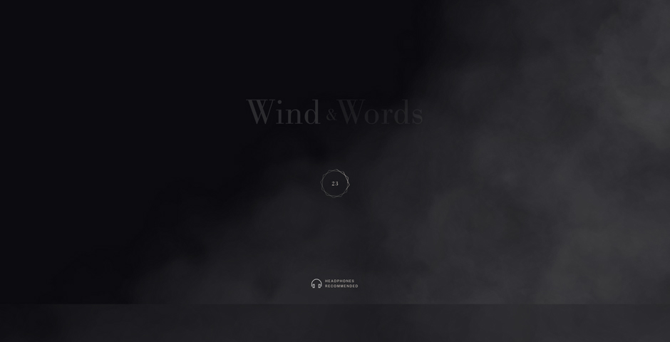 Nominee - Wind and Words