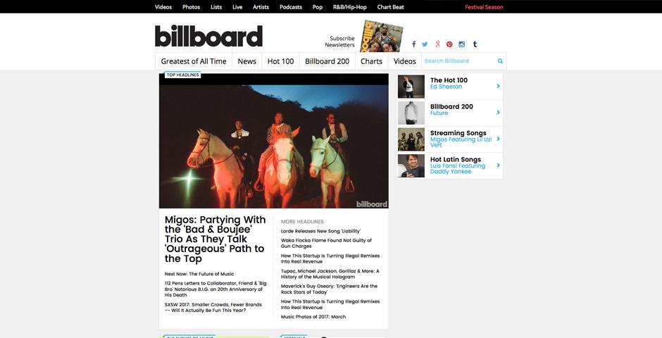Honoree - Billboard.com