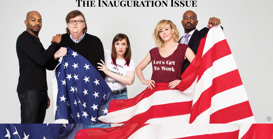 - The Inauguration Issue