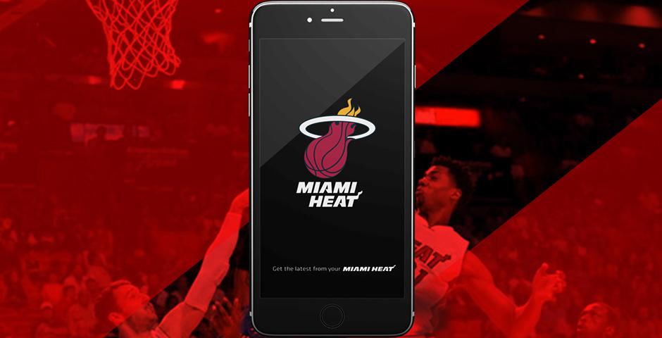 Webby Award Winner - Miami HEAT App
