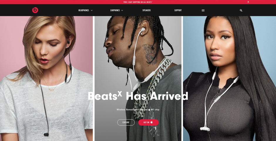 2017 Webby Winner - Beats By Dre