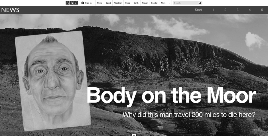 Nominee - BBC News – Body on the Moor