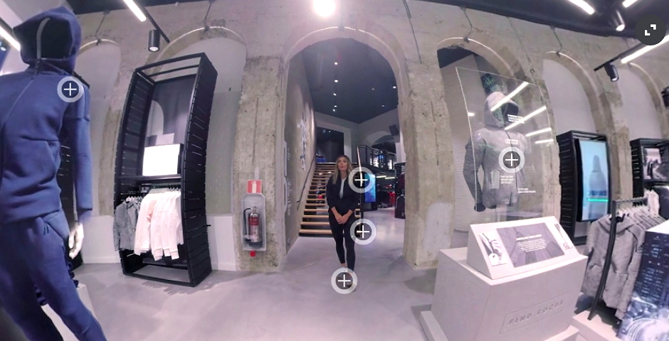 Nominee - Adidas 360° Concept Store
