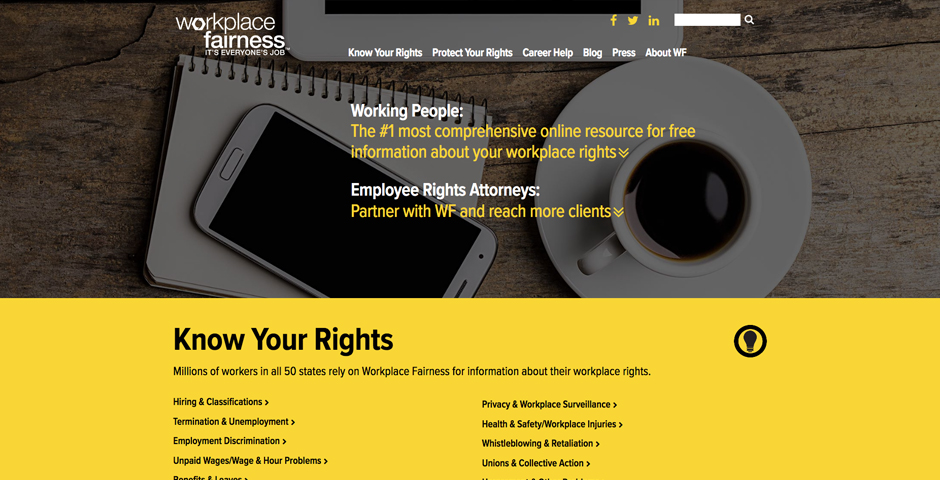 - Workplace Fairness
