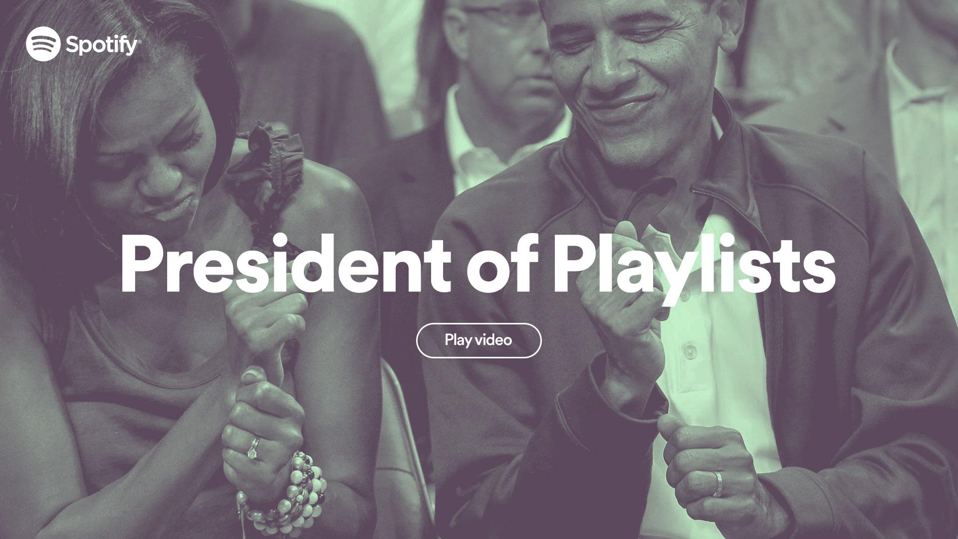 Webby Award Nominee - President of Playlists