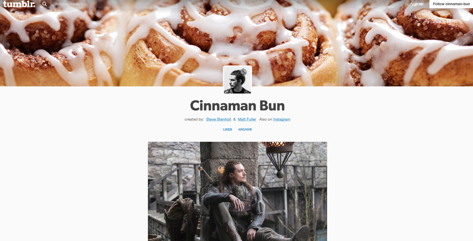 Honoree - Cinnaman Bun