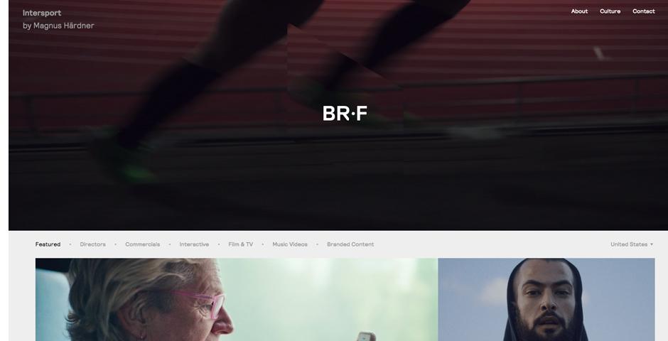 Nominee - B-Reel Films