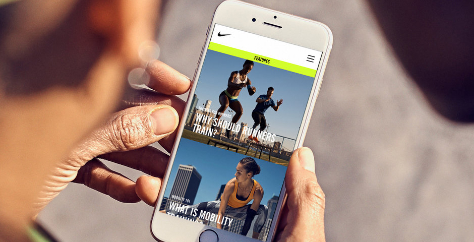 Webby Award Winner - Nike Trainers Hub