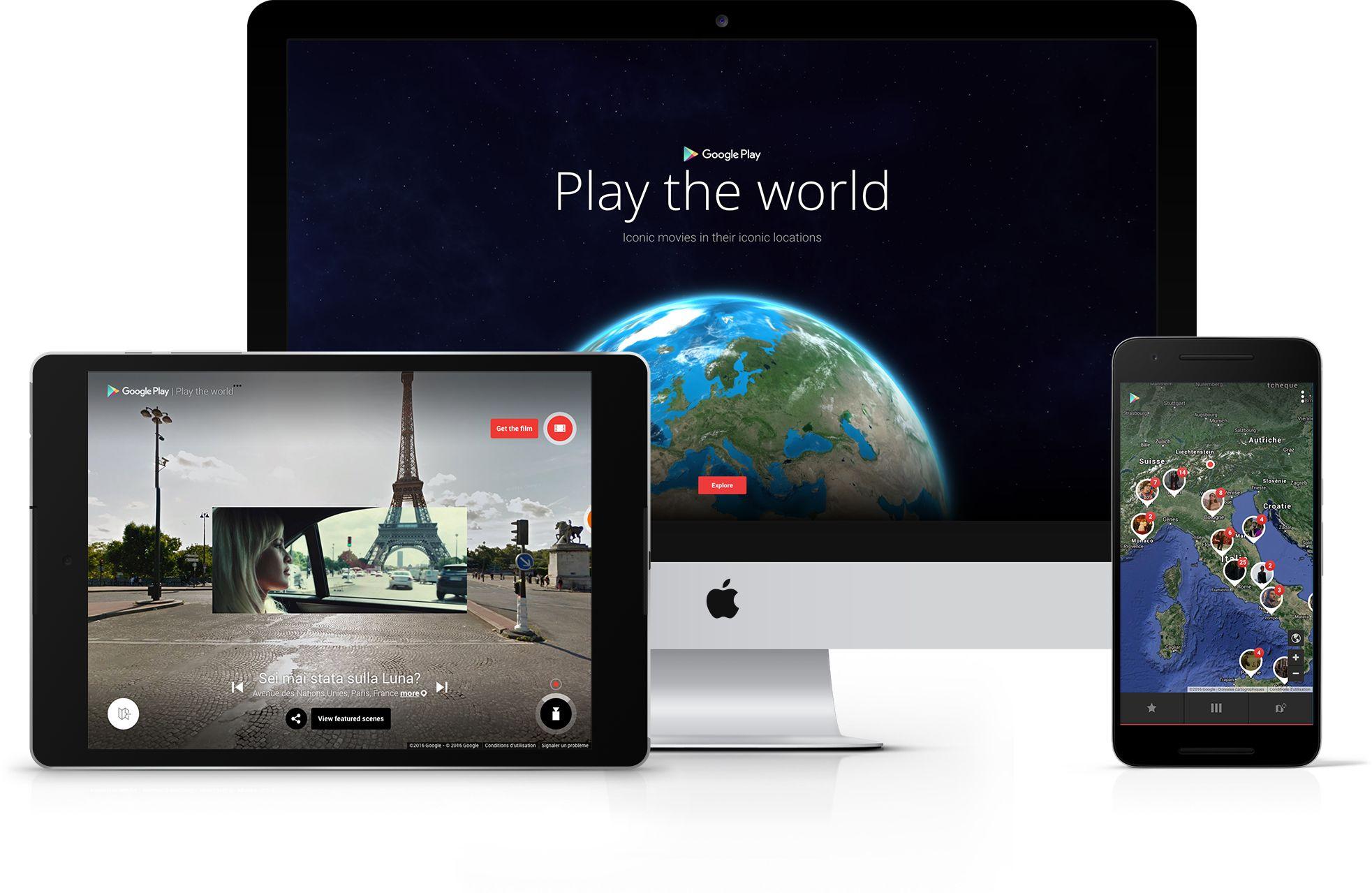 People's Voice / Webby Award Winner - GOOGLE PLAY: PLAY THE WORLD