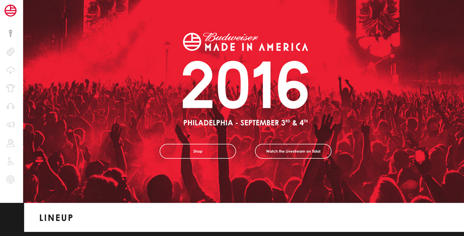 Nominee - Made in America Festival 2016