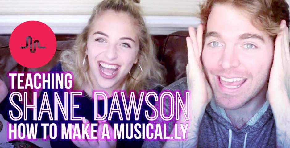 Nominee - TEACHING SHANE DAWSON HOW TO MAKE A MUSICAL.LY