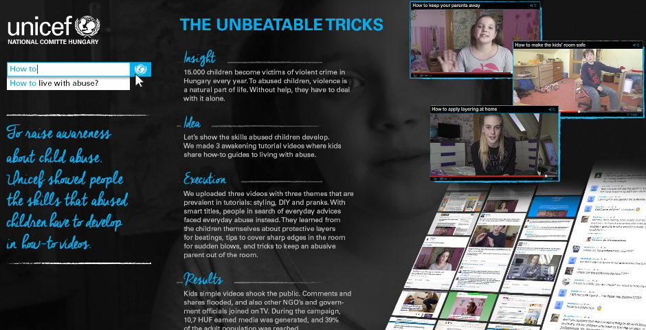 Honoree - Unicef – Unbeatable Tricks