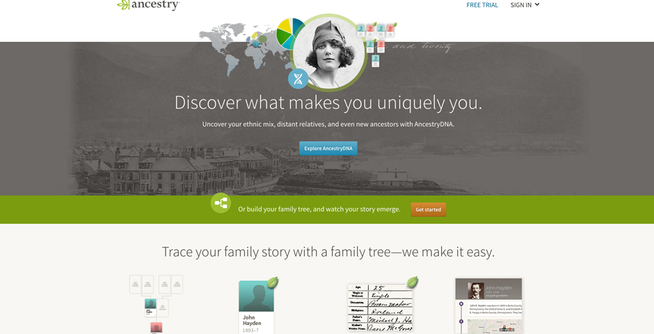 People's Voice - Ancestry