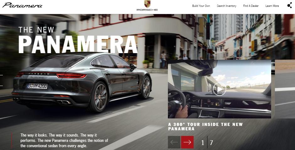 Honoree - Porsche Panamera