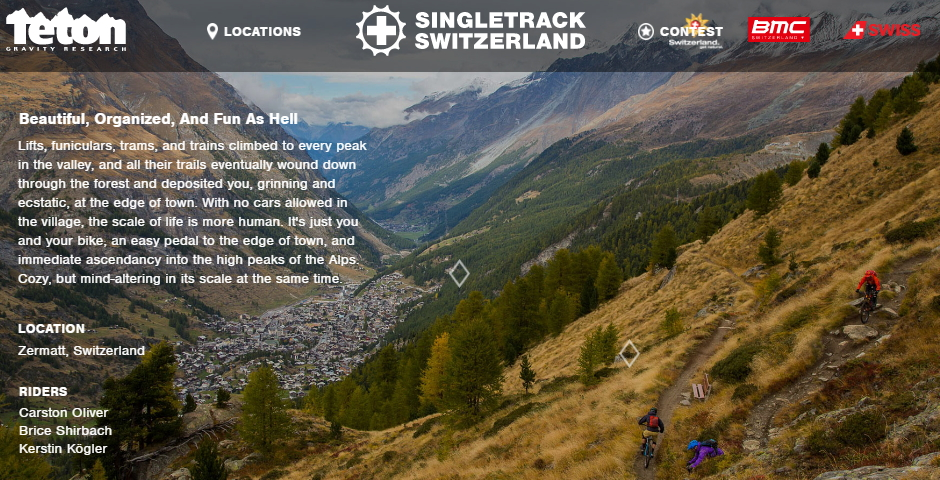 Nominee - Singletrack Switzerland