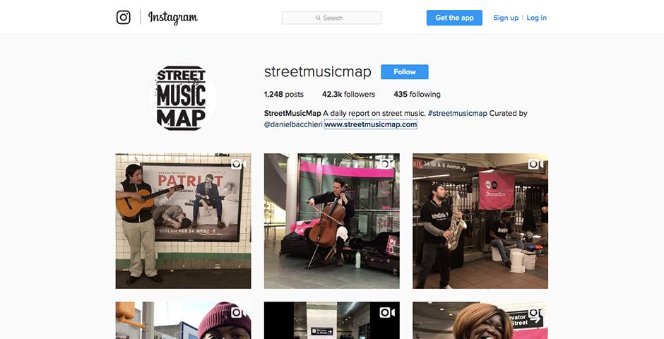 Nominee - StreetMusicMap Instagram