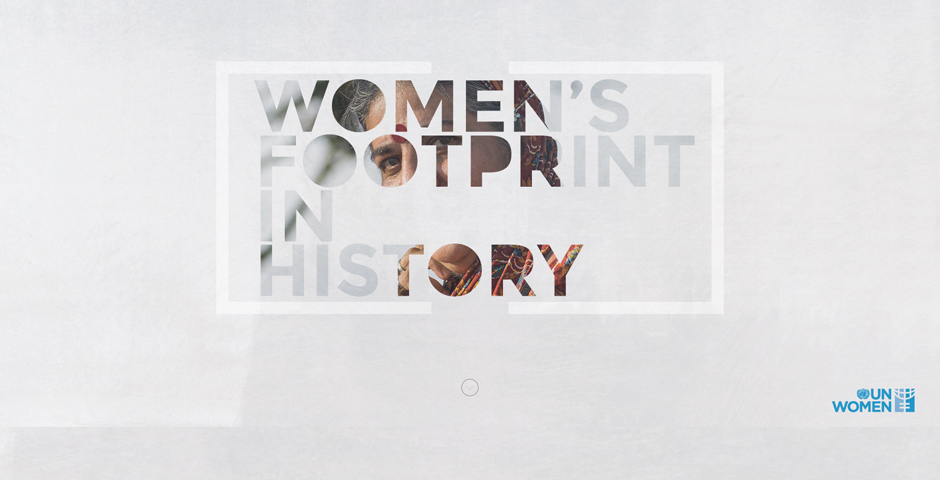 Webby Award Winner - Women's footprint in history