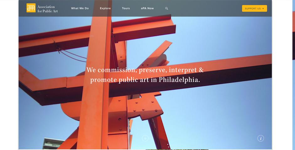 Webby Award Nominee - Association for Public Art