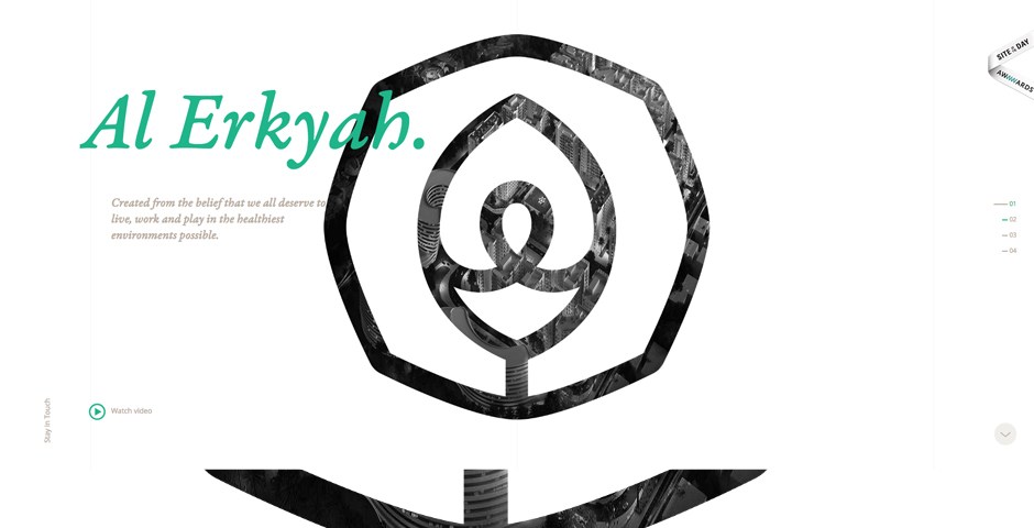 Honoree - Al Erkyah City – Life well lived.
