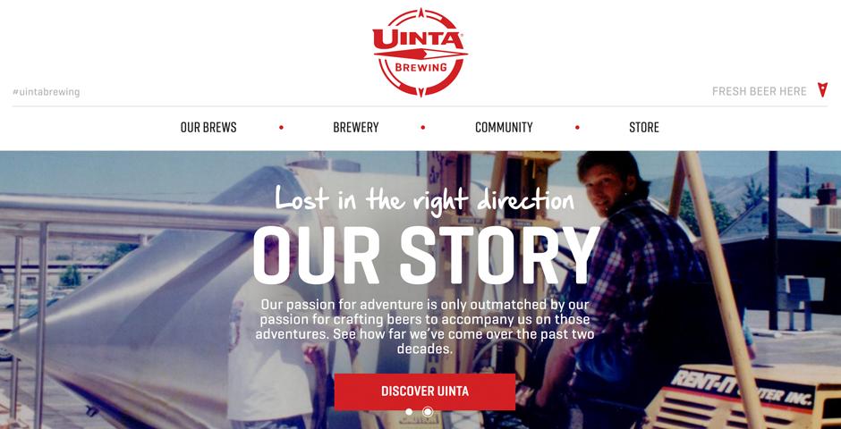 Honoree - Get Thirsty – Uinta Brewing