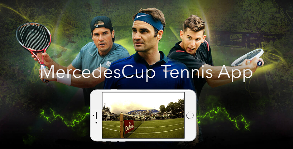 Nominee - MercedesCup Tennis App
