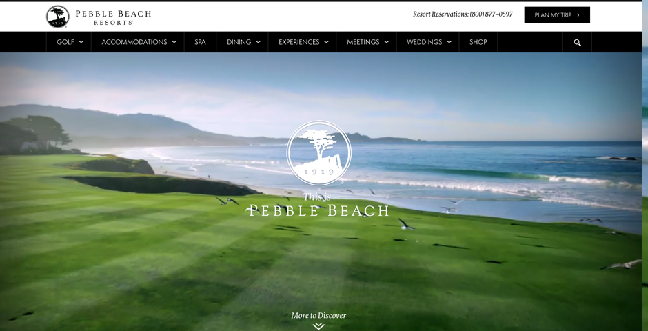 Honoree - Pebble Beach Resorts
