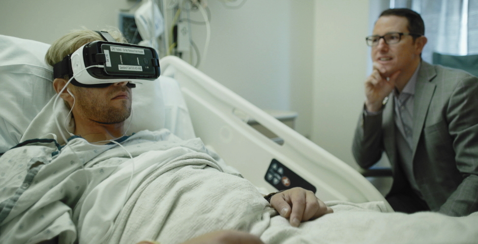 People's Voice - Hospitals Try Giving Patients a Dose of VR