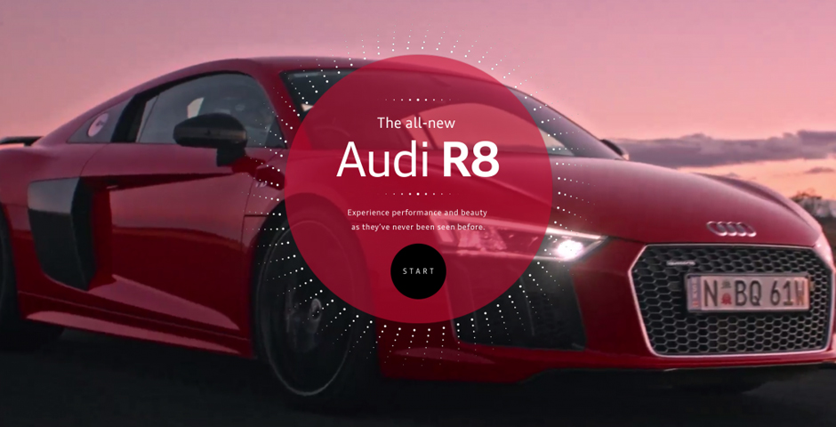 Nominee - Audi R8 Blink