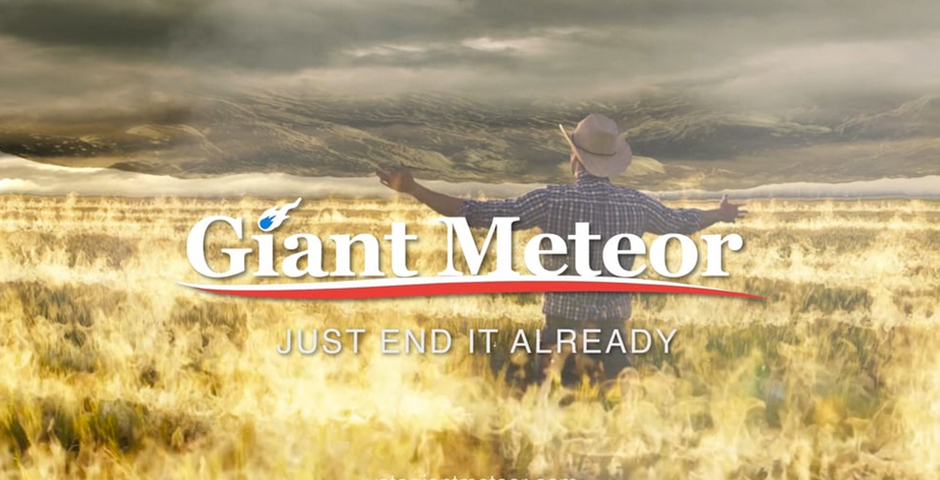 Webby Award Nominee - Vote Giant Meteor 2016 Campaign Ad