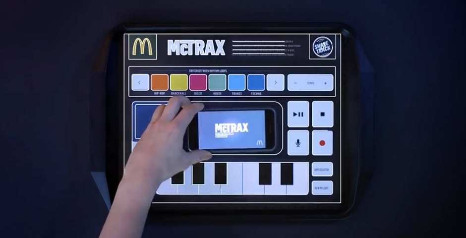 Honoree - McTrax – A Music Production Station on a Paper Placemat