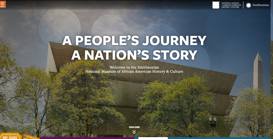 Smithsonian National Museum of African American History and Culture Website