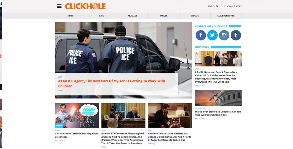Honoree - ClickHole