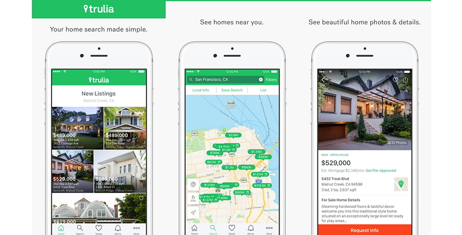 Nominee - Trulia Real Estate App