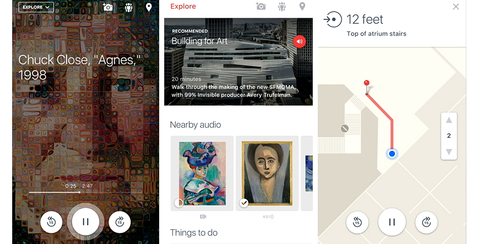 Honoree - The SFMOMA App