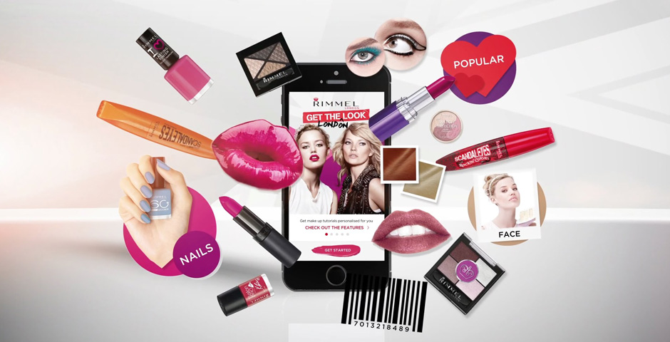Webby Award Nominee - Get the Look - Rimmel London