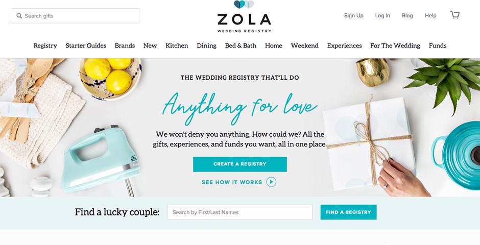 Honoree - Zola Registry