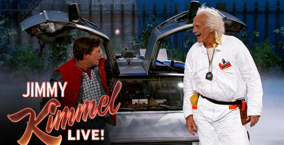Nominee - Marty McFly & Doc Brown Visit Jimmy Kimmel Live