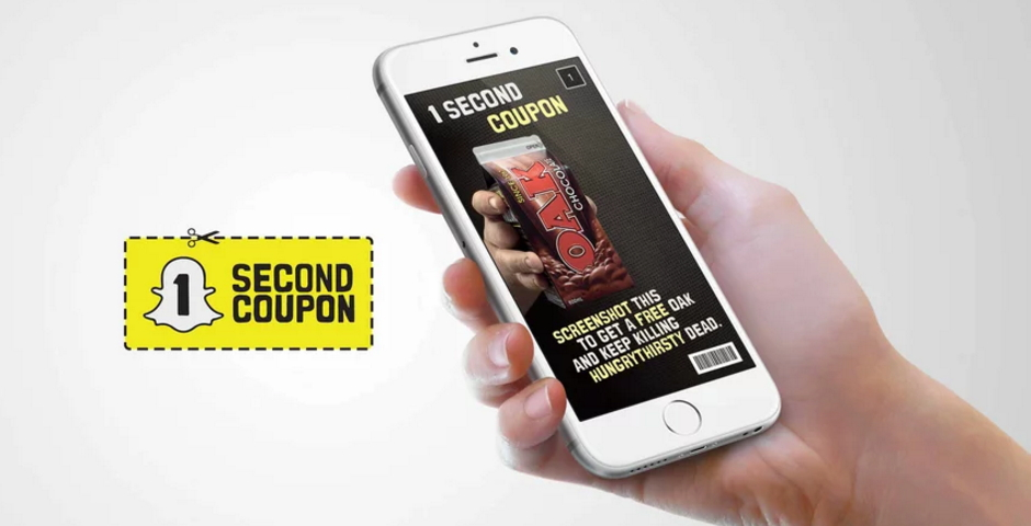 Honoree - OAK Snapchat World's Fastest Coupon