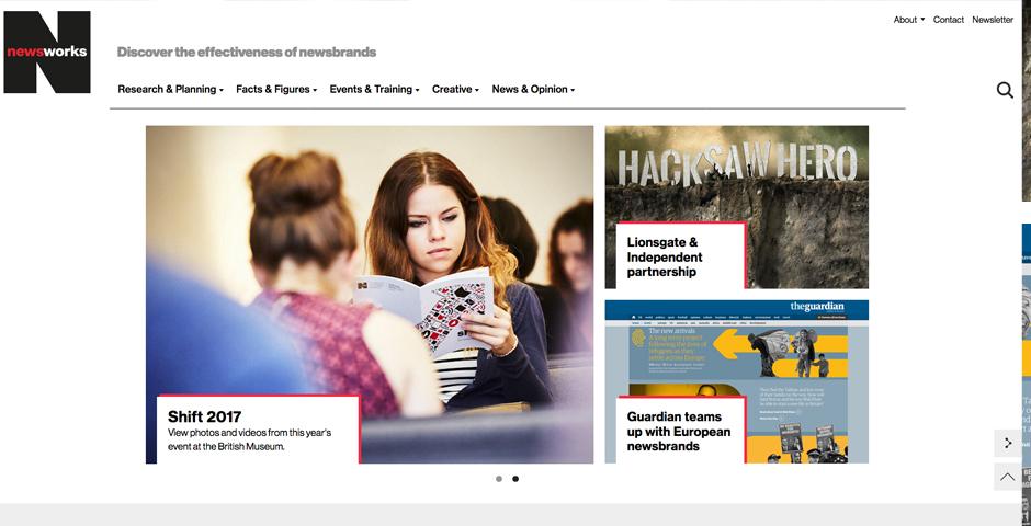 Honoree - Newsworks website