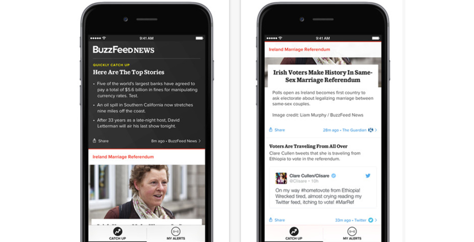 Webby Award Winner - BuzzFeed News App