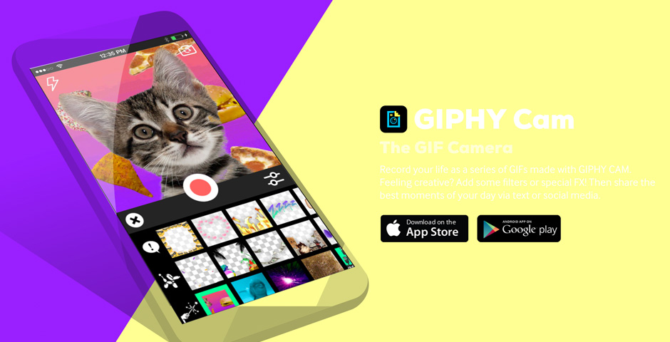 Webby Award Nominee - GIPHY CAM