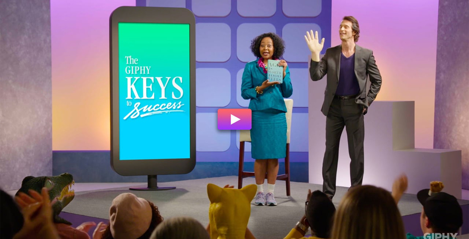Webby Award Winner - GIPHY KEYS TO SUCCESS