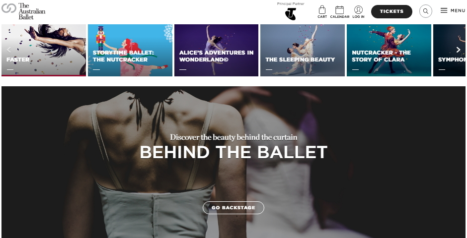 Webby Award Nominee - The Australian Ballet