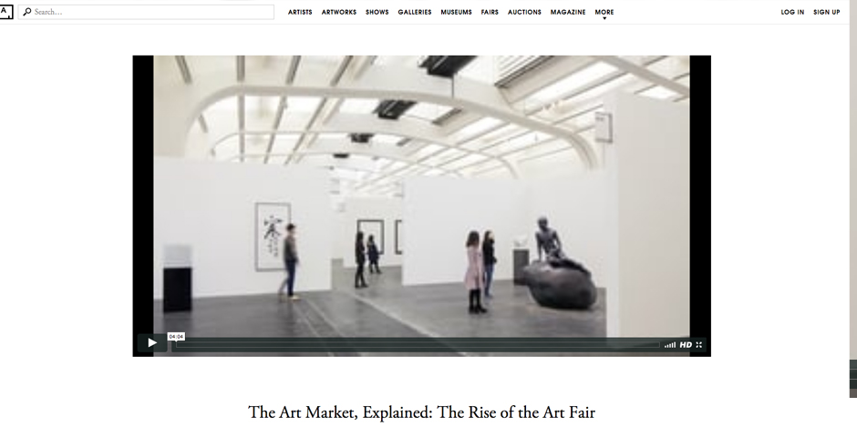 Honoree - The Art Market (in Four Parts)